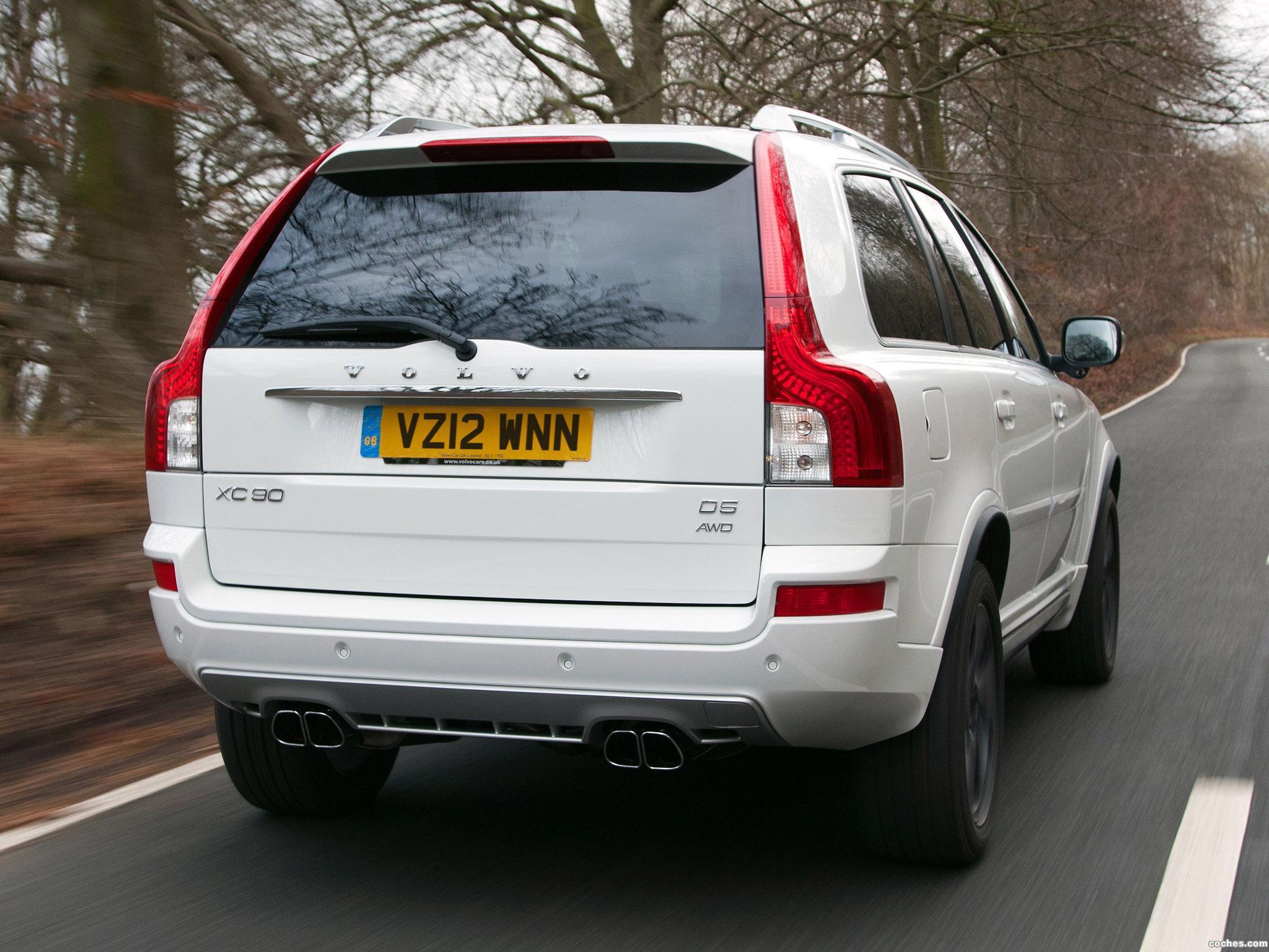 Foto 7 de Volvo XC90 R-Design UK 2012