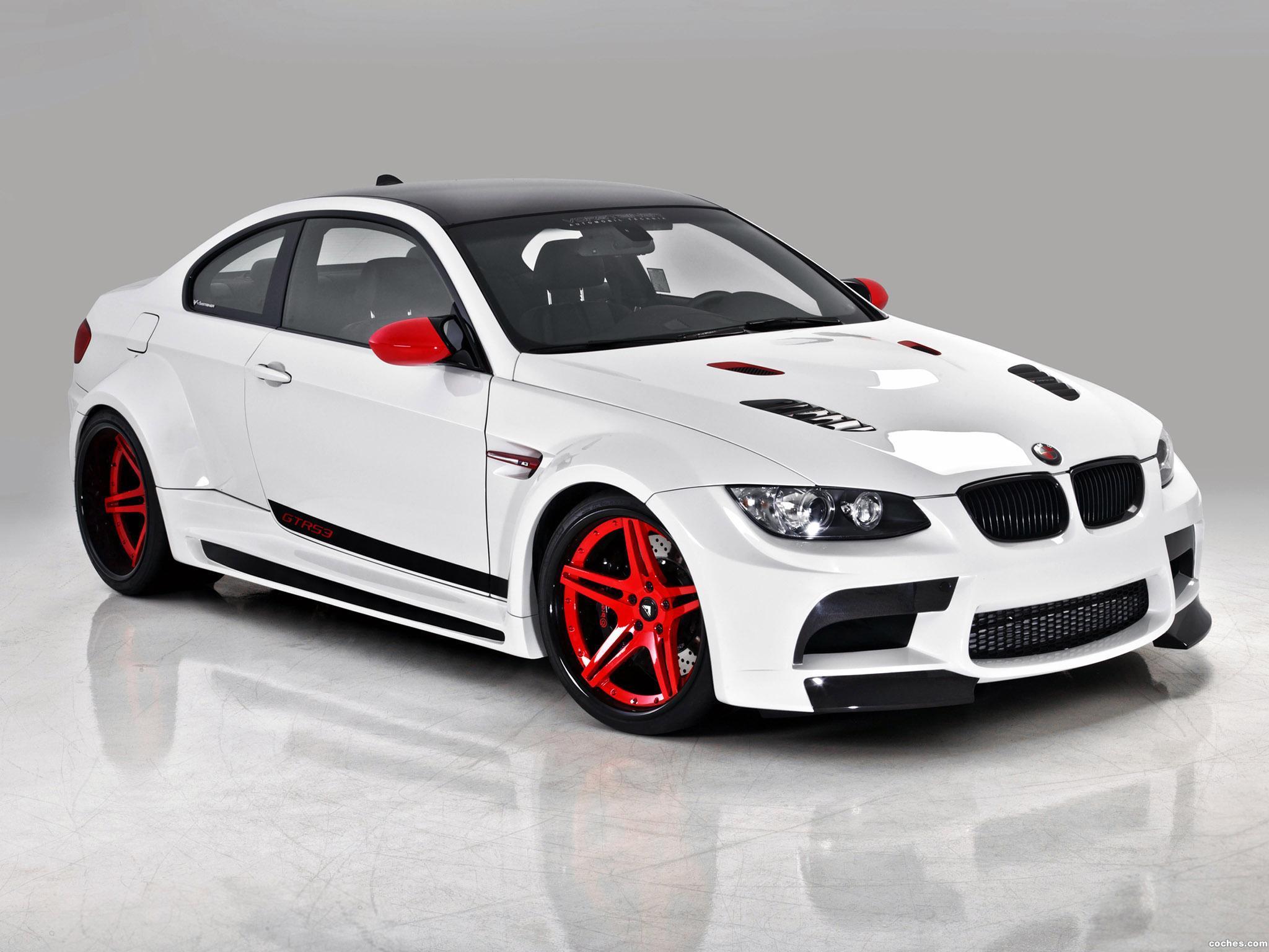Foto 0 de BMW Vorsteiner Serie 3 M3 Coupe GTRS3 Candy Cane E92 2011