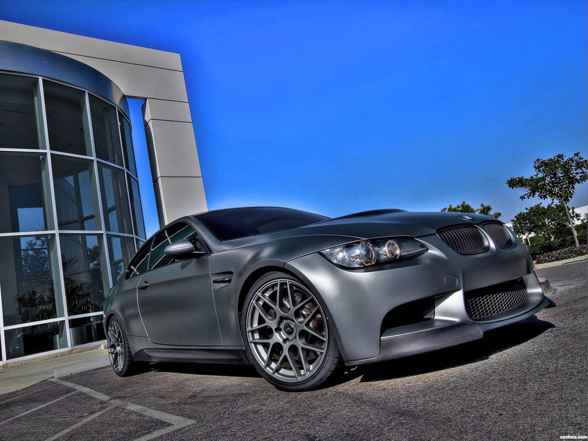 Foto 0 de BMW M3 GTS3 Aerodynamic Kit vorsteiner 2009