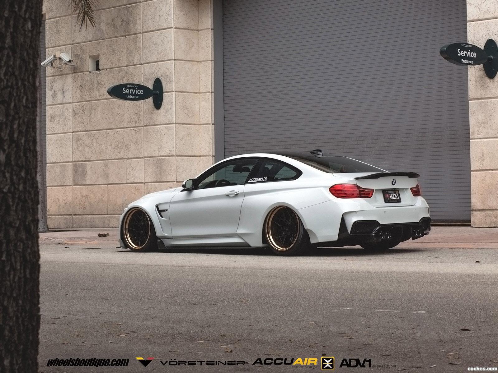 Foto 8 de Vorsteiner BMW M4 GTRS4 Widebody 2016