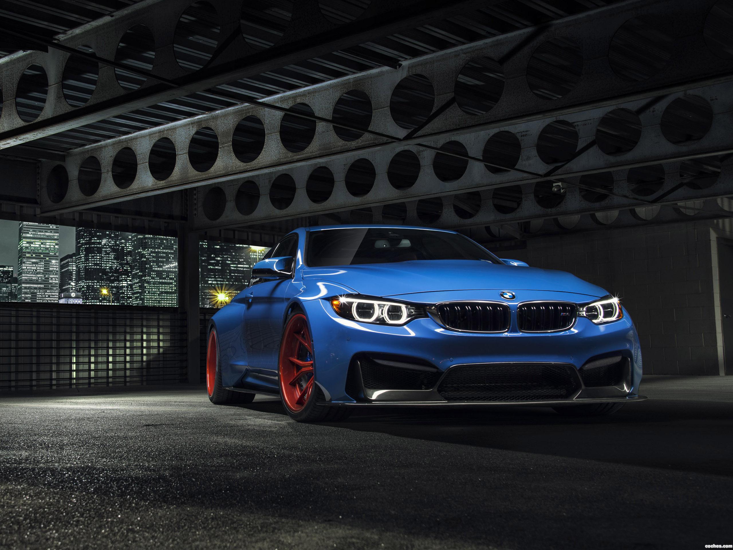 Foto 0 de Vorsteiner BMW M4 Yas Marina Blue GTRS4 Anniversary Edition 2015