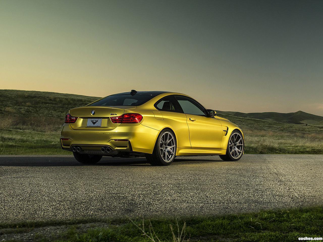 Foto 1 de BMW Vorsteiner M4 2014
