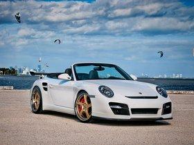Ver foto 8 de Porsche Vorsteiner 911 V-RT Twin Turbo Cabriolet 2012