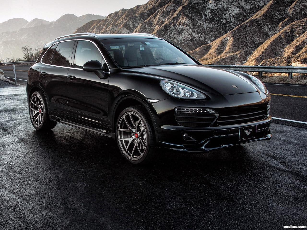 Foto 0 de Vorsteiner Porsche Cayenne S V-CT 2013