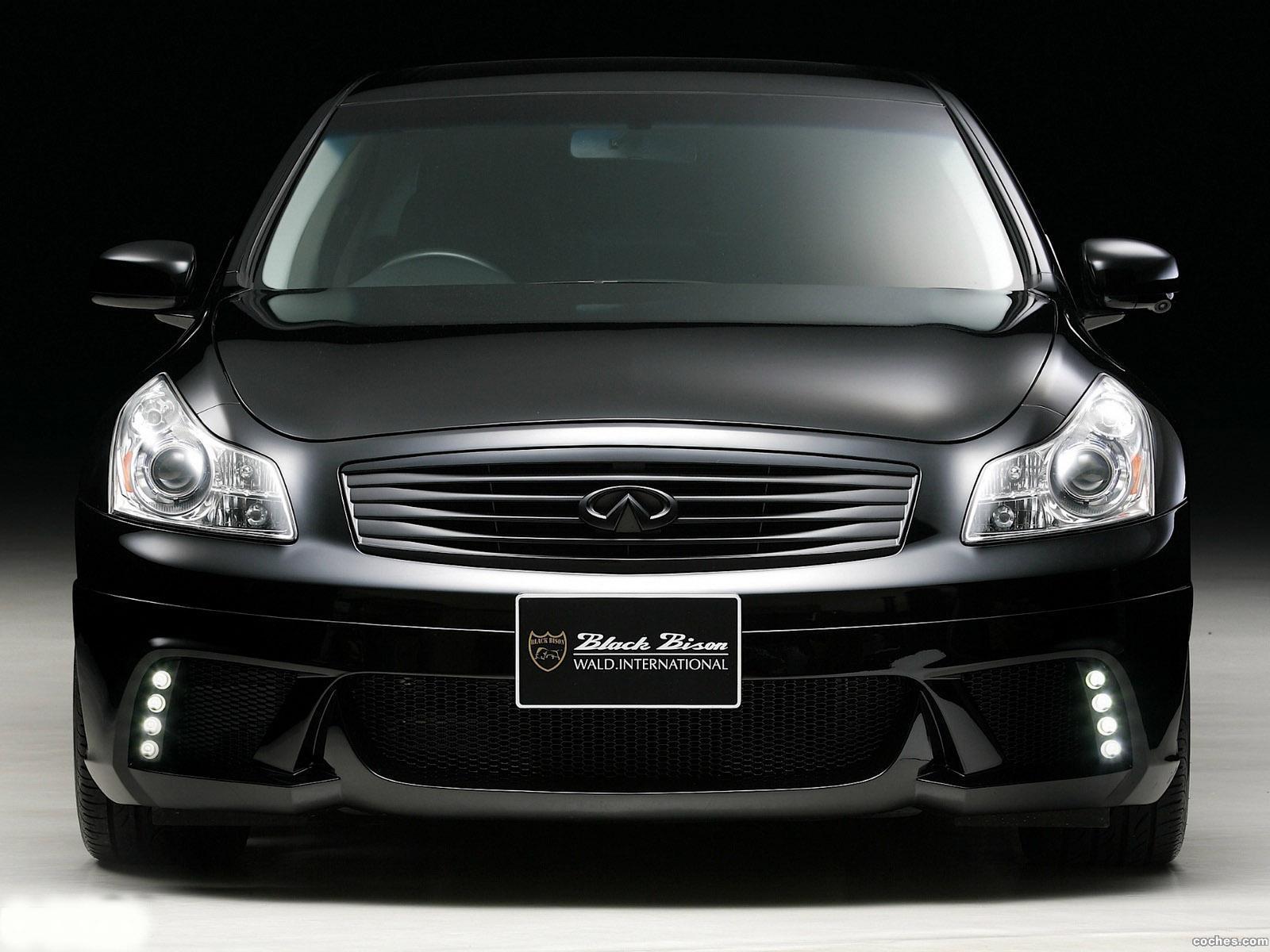 Foto 0 de WALD Infiniti G37 Black Bison Edition 2011