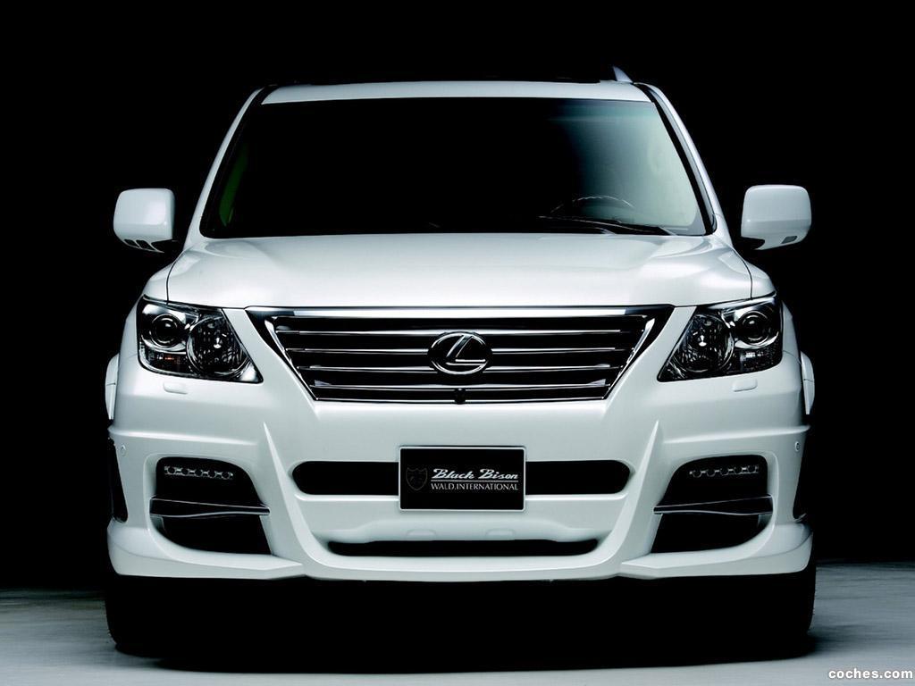 Foto 10 de WALD Lexus LX570 Sports Line Black Bison Edition 2011