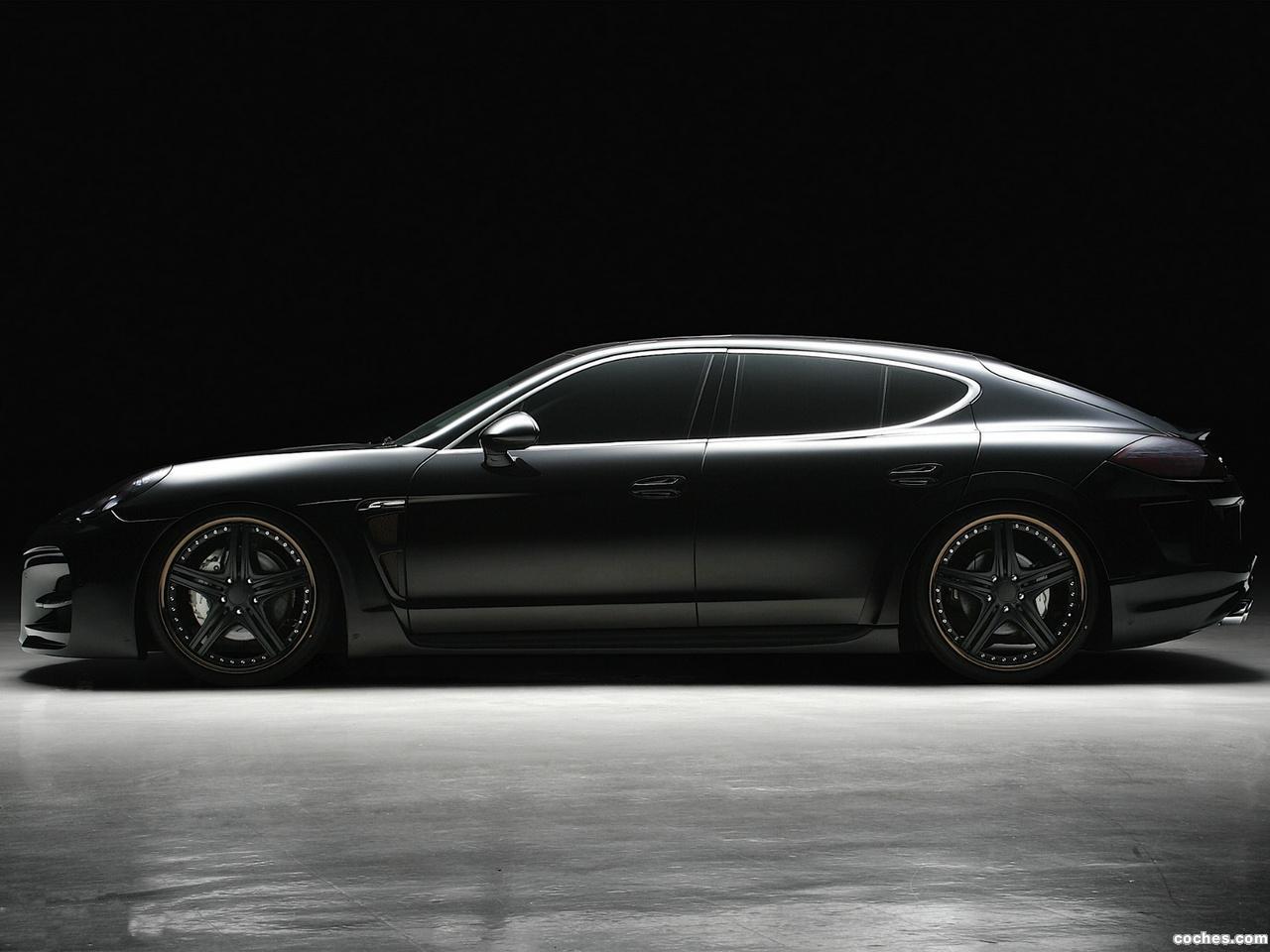 Foto 1 de WALD Porsche Panamera S Black Bisono Edition 2012