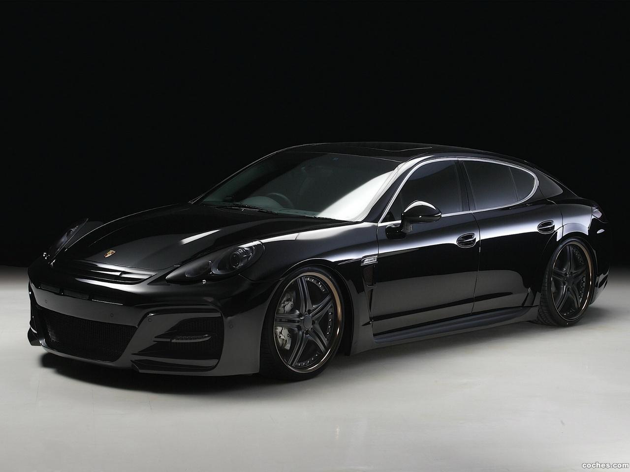 Foto 0 de Wald Porsche Panamera S Black Bisono Edition 2012