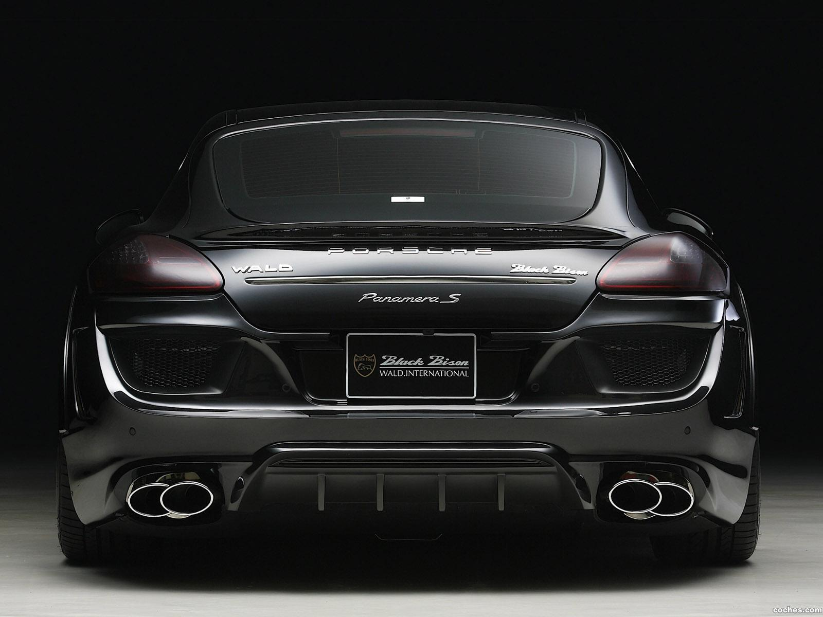 Foto 4 de WALD Porsche Panamera S Black Bisono Edition 2012