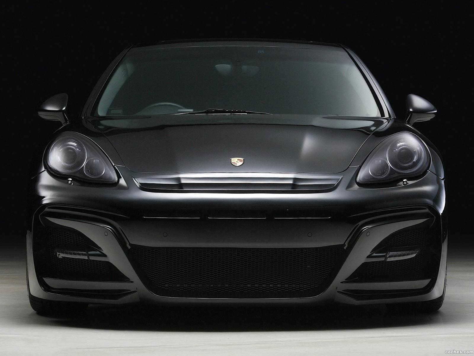 Foto 3 de WALD Porsche Panamera S Black Bisono Edition 2012