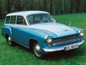 Ver foto 1 de Wartburg 311 Camping 1956