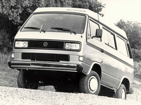 Fotos de Volkswagen Transporter westfalia T3 Vanagon Camper Syncro 1987