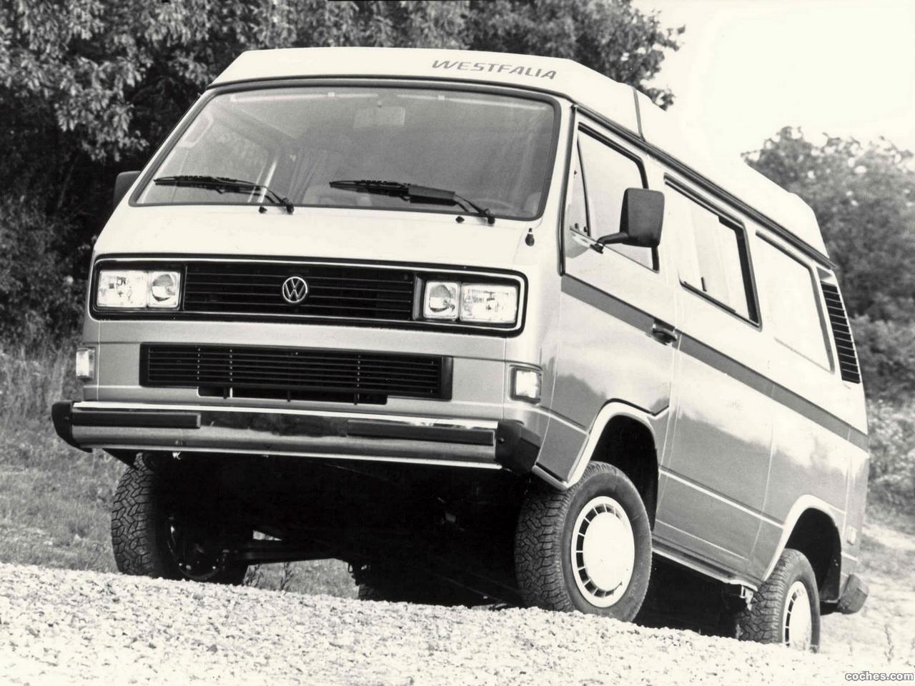 Foto 0 de Volkswagen Transporter westfalia T3 Vanagon Camper Syncro 1987