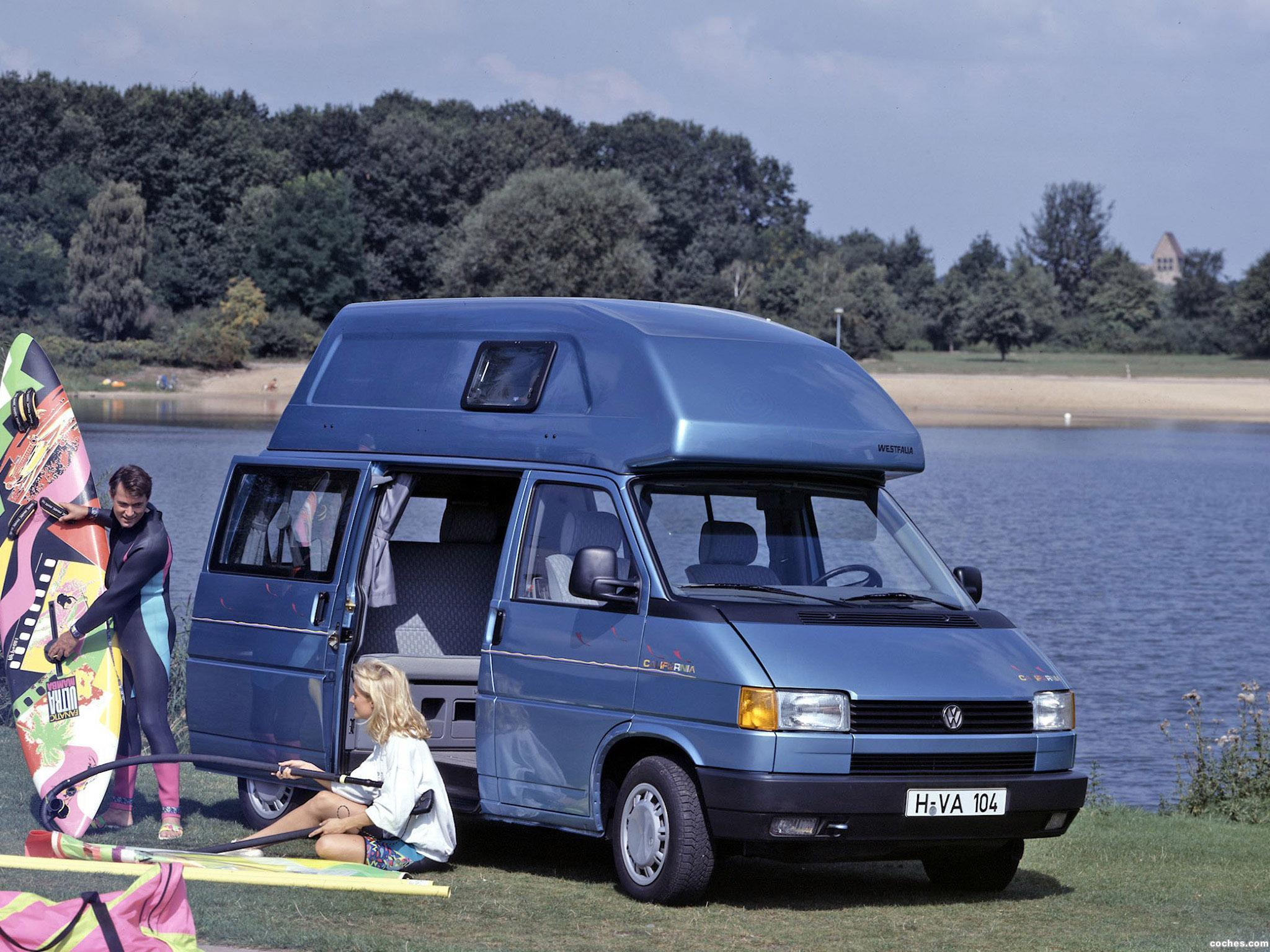 Foto 0 de Volkswagen Transporter westfalia T4 California 1991