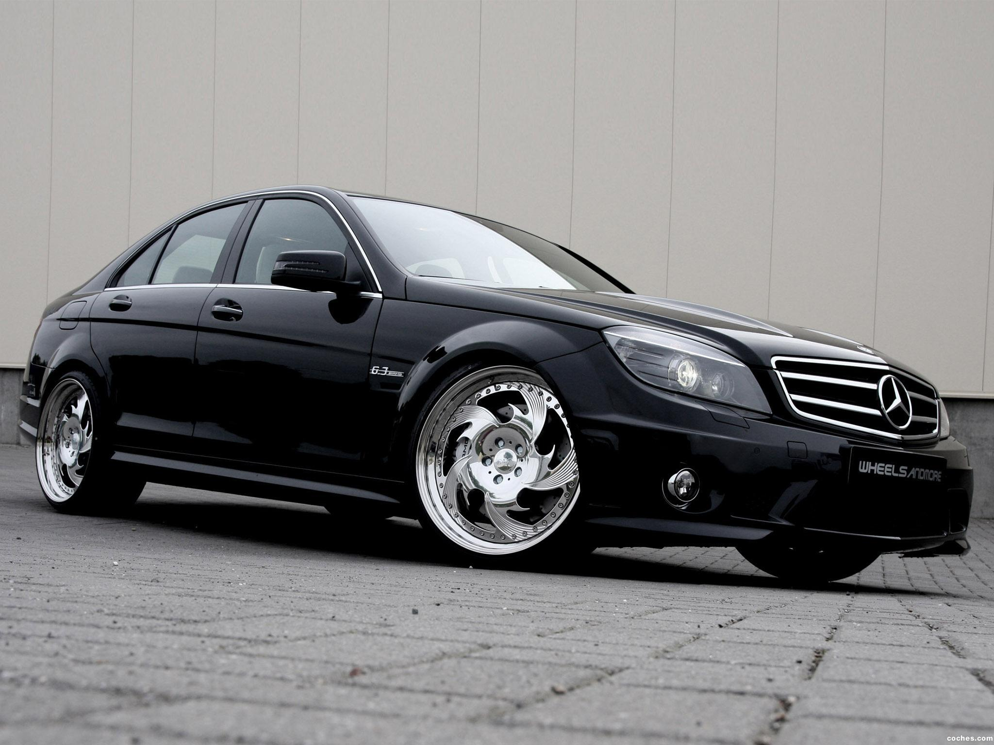 Foto 0 de Wheelsandmore Mercedes AMG C63 W204 2010