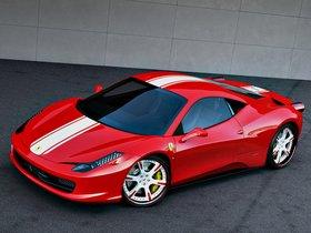 Ver foto 2 de Ferrari 458 Italia by Wheelsandmore 2011