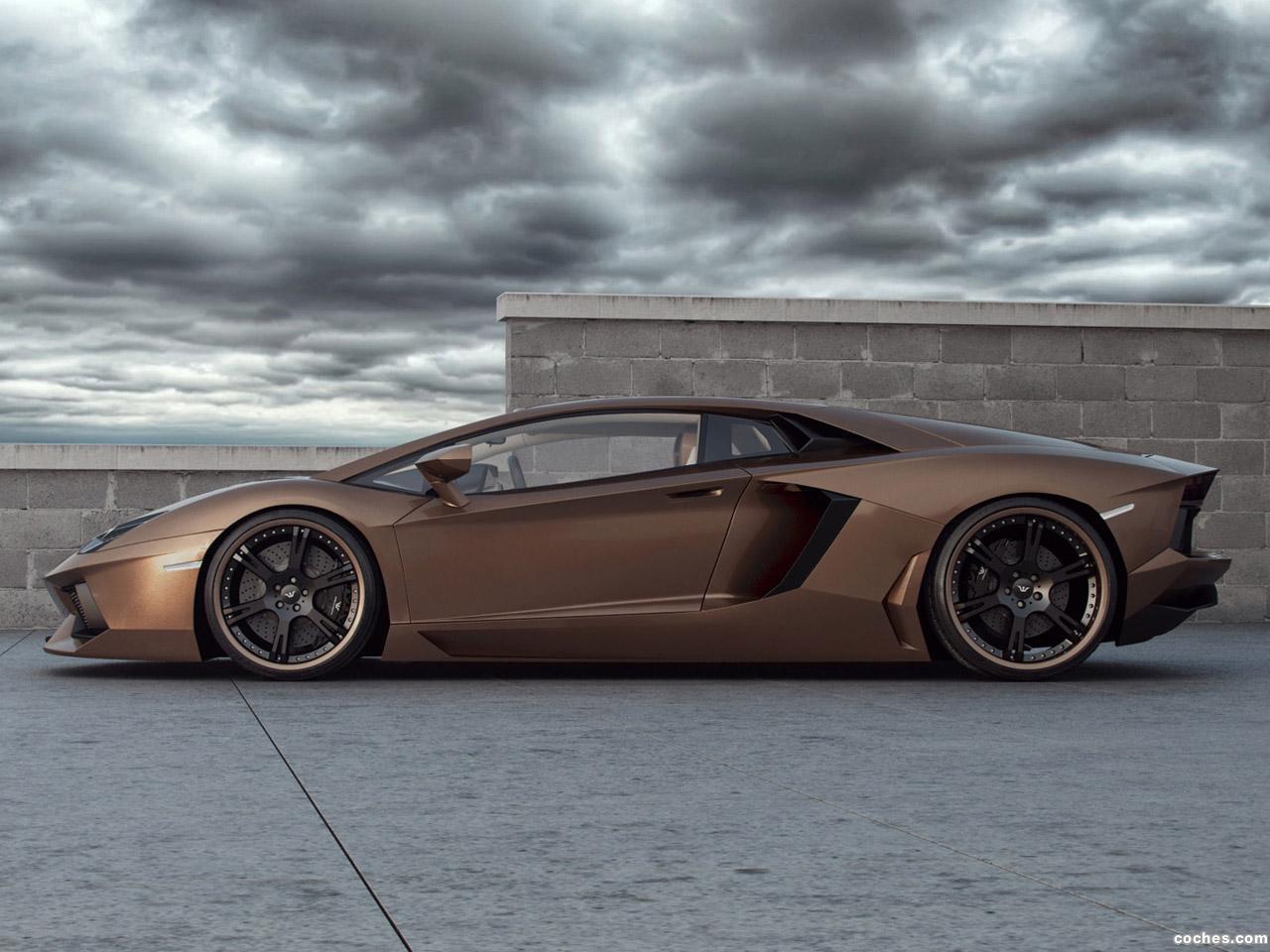 Foto 2 de Wheelsandmore Lamborghini Aventador Rabbioso 2012