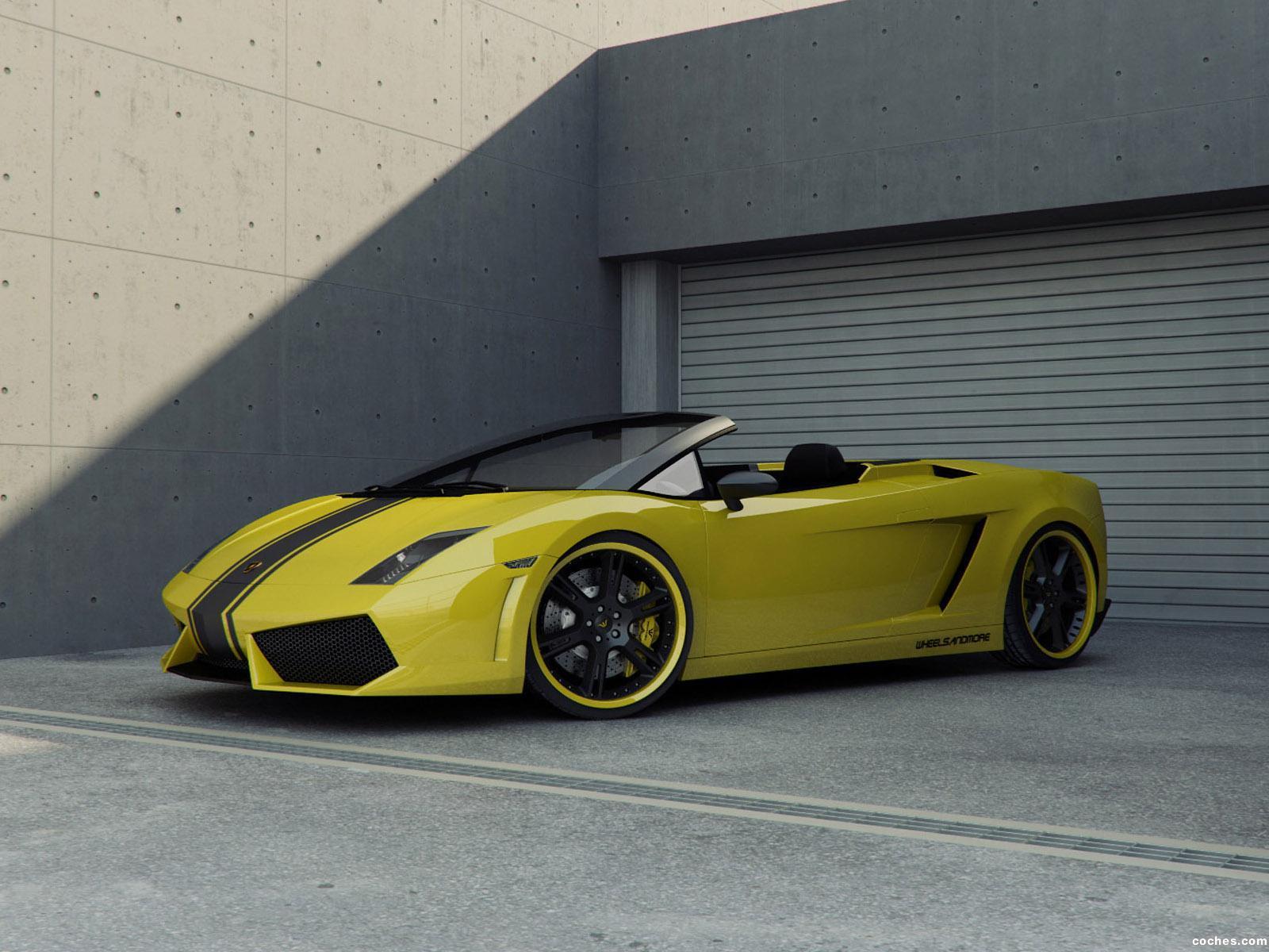 Foto 0 de Wheelsandmore Lamborghini Gallardo Spyder 2009