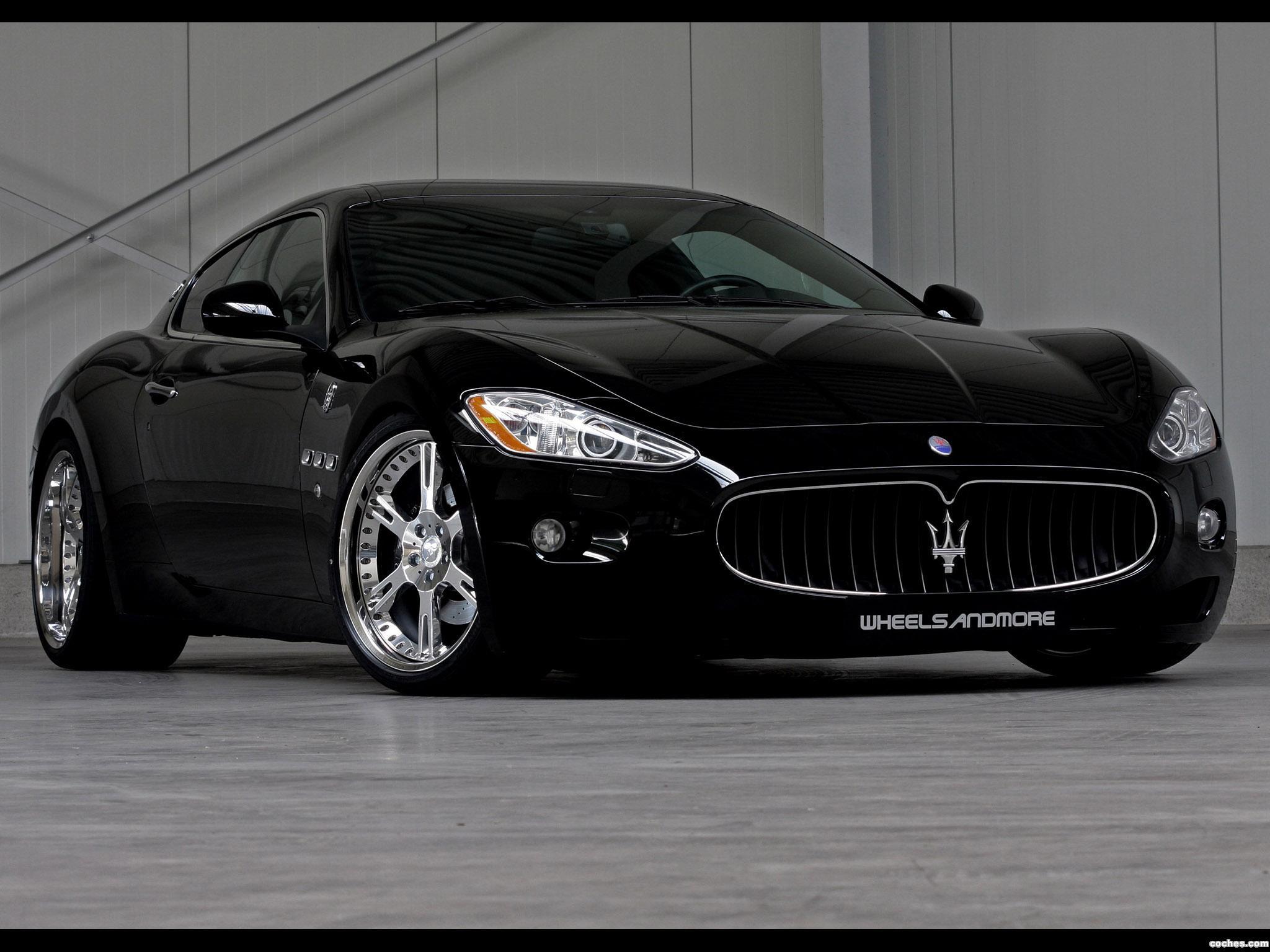 Foto 0 de Maserati Wheelsandmore GranTurismo 2011