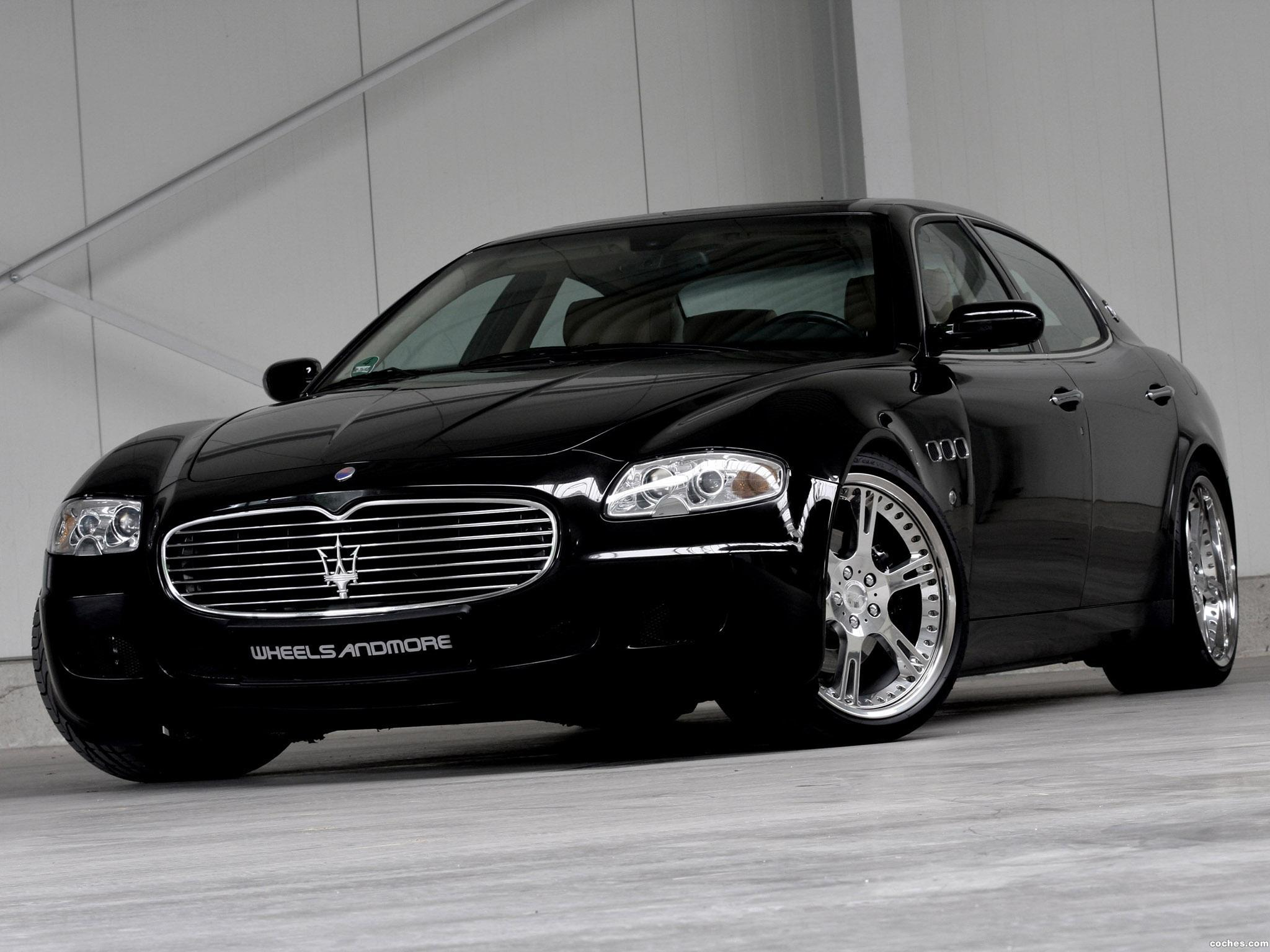 Foto 0 de Wheelsandmore Maserati Quattroporte 2011