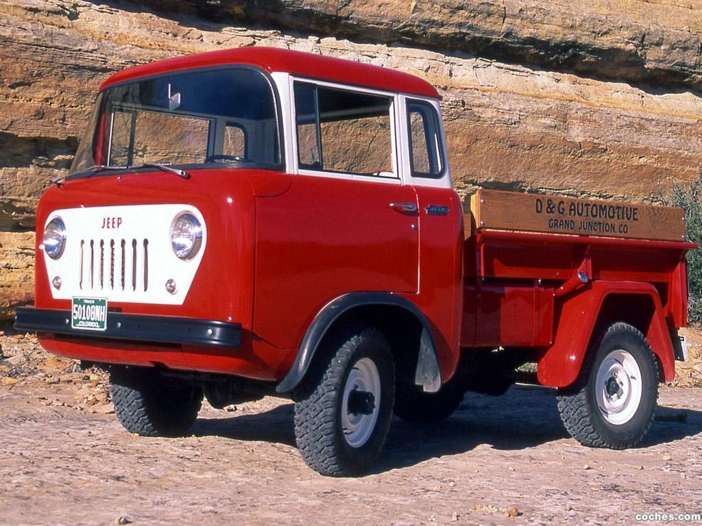 Foto 0 de Jeep Willys FC 150 1957