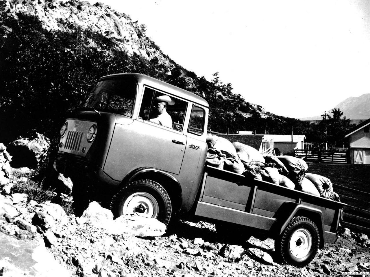 Foto 0 de Jeep Willys FC 170 1957