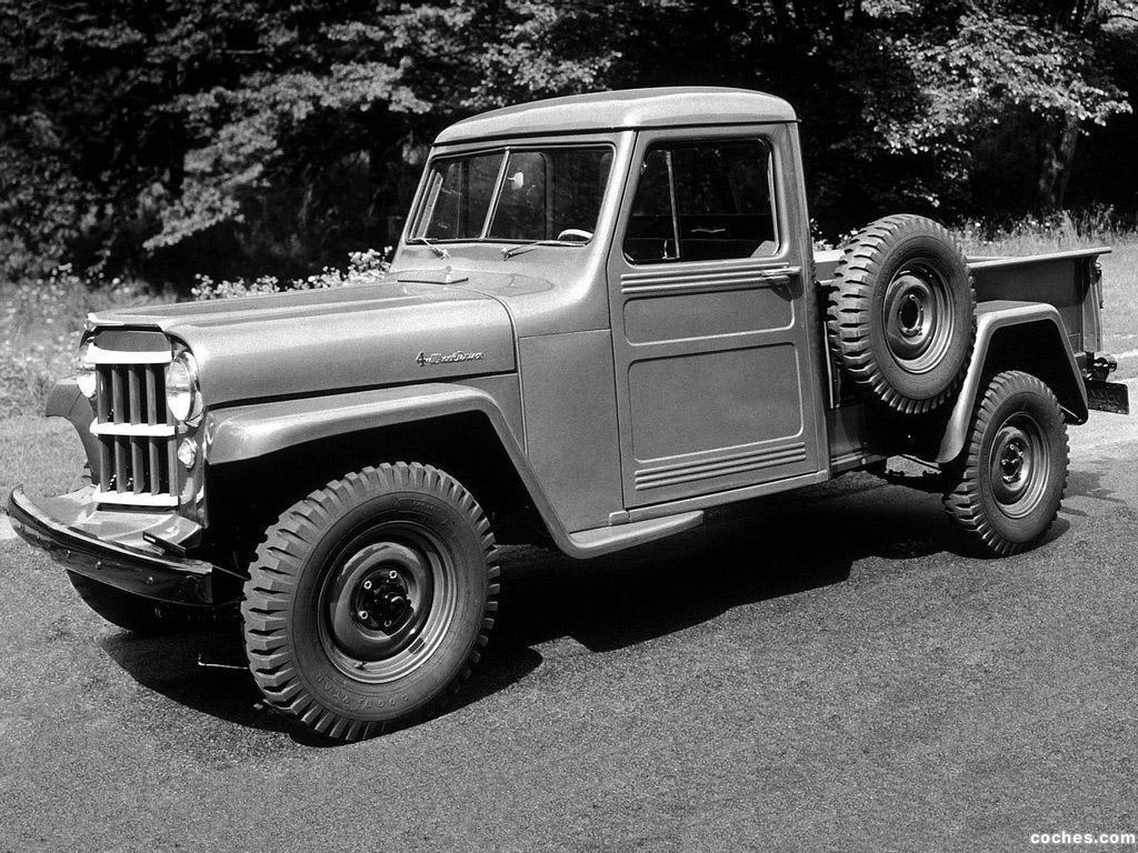 4WD 1-Ton Jeep Pickup, 1954 год.