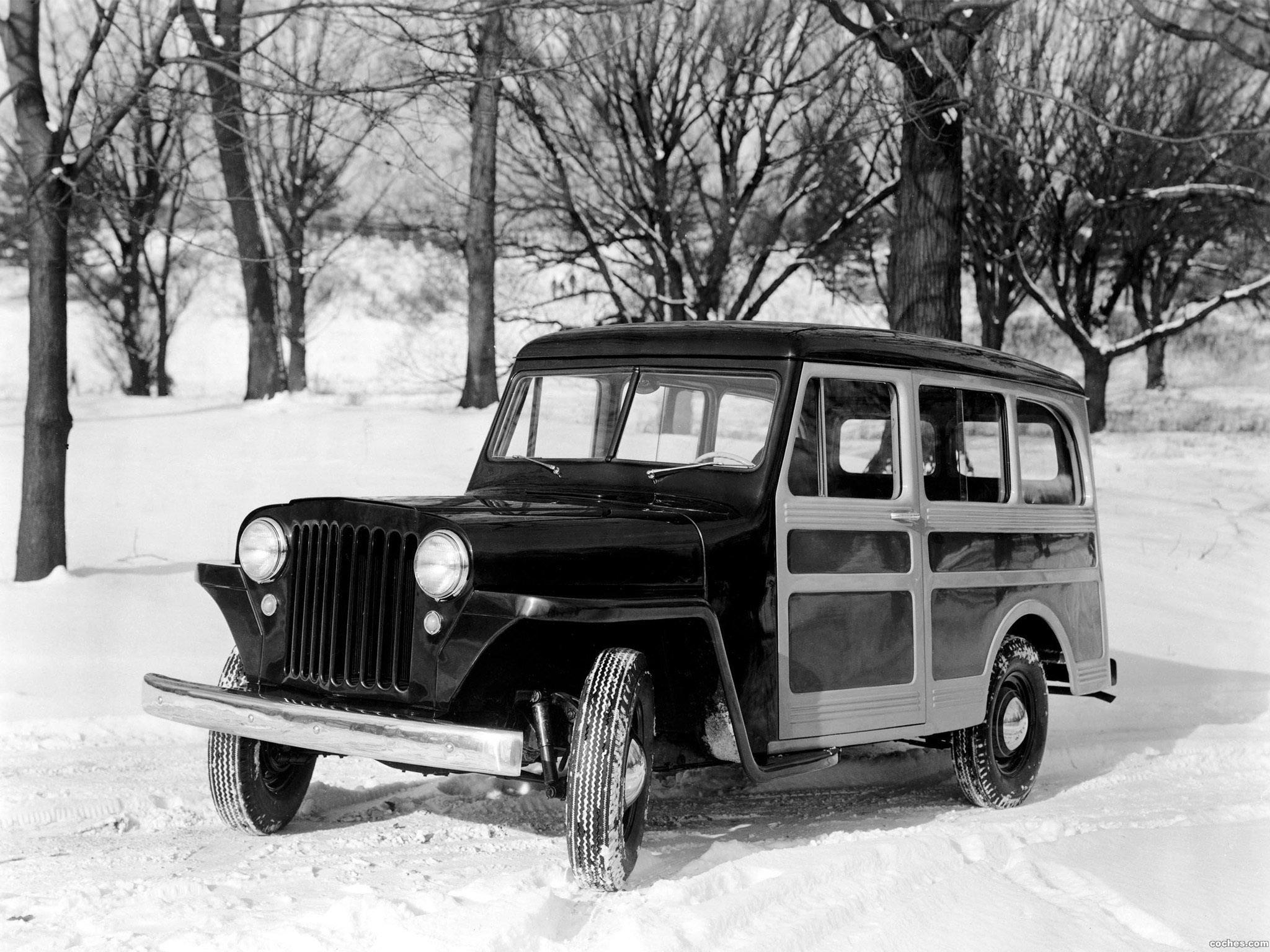 Foto 0 de Jeep Wagon 1946