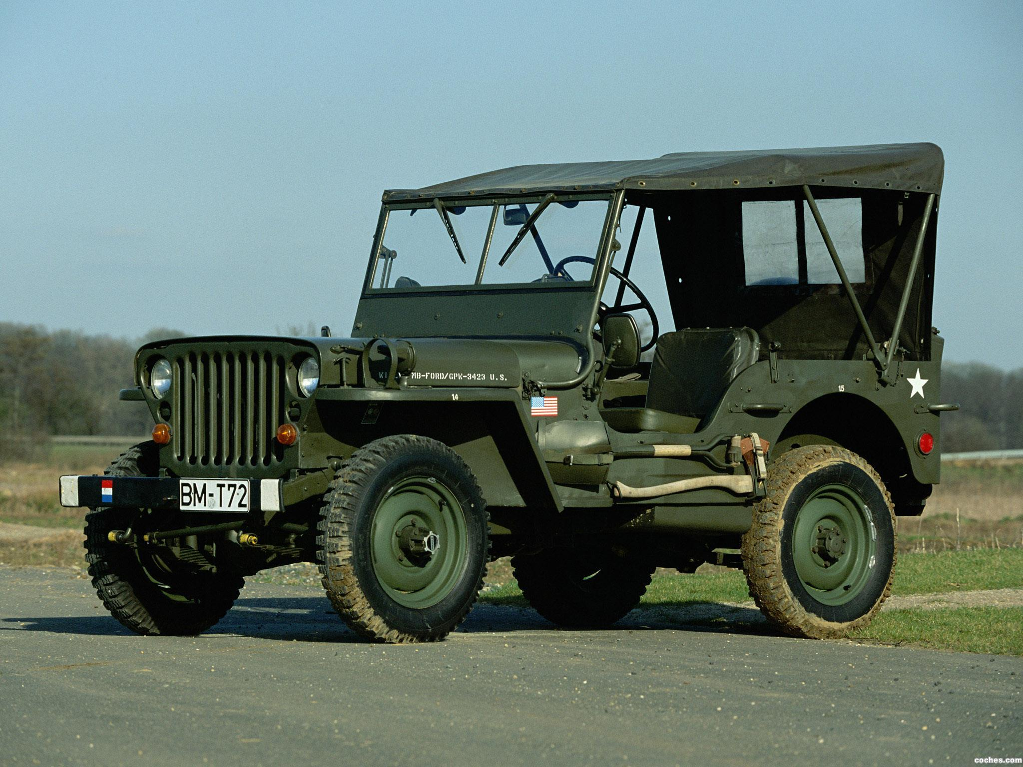 Foto 0 de Jeep Willys MB 1942