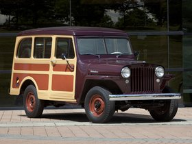 Ver foto 3 de Willys Jeep Station Wagon 1949