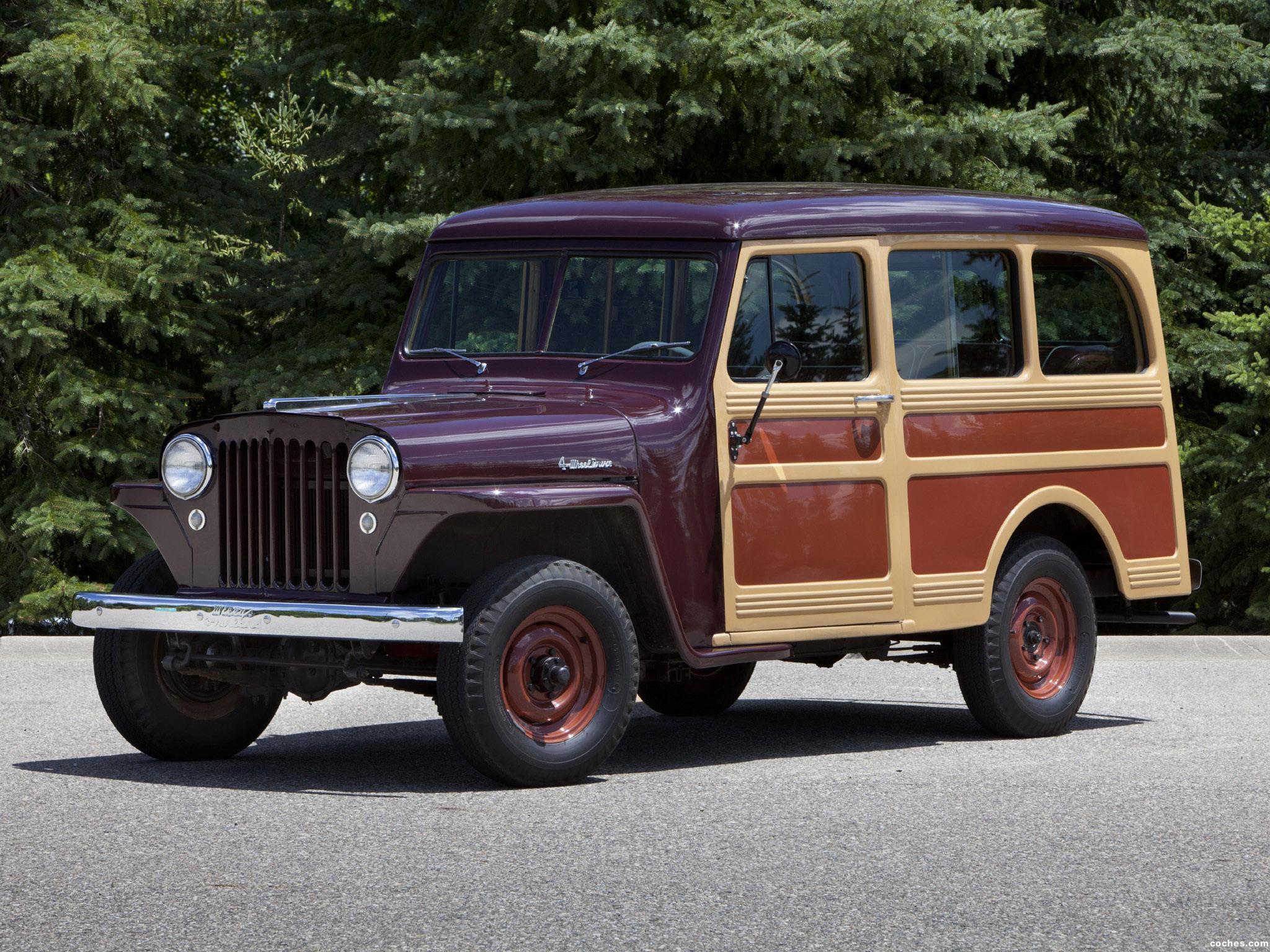 Foto 0 de Willys Jeep Station Wagon 1949