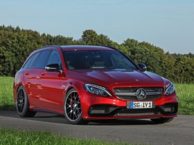 Fotos de Mercedes Wimmer RS AMG C63 S Estate S205 2015