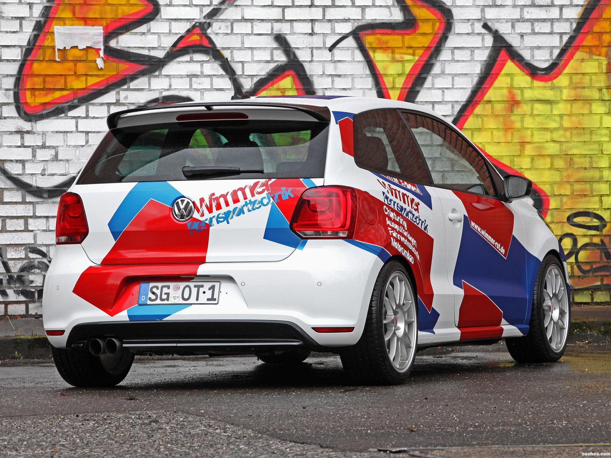 Foto 5 de Wimmer Volkswagen RS Polo R WRC Street 2016
