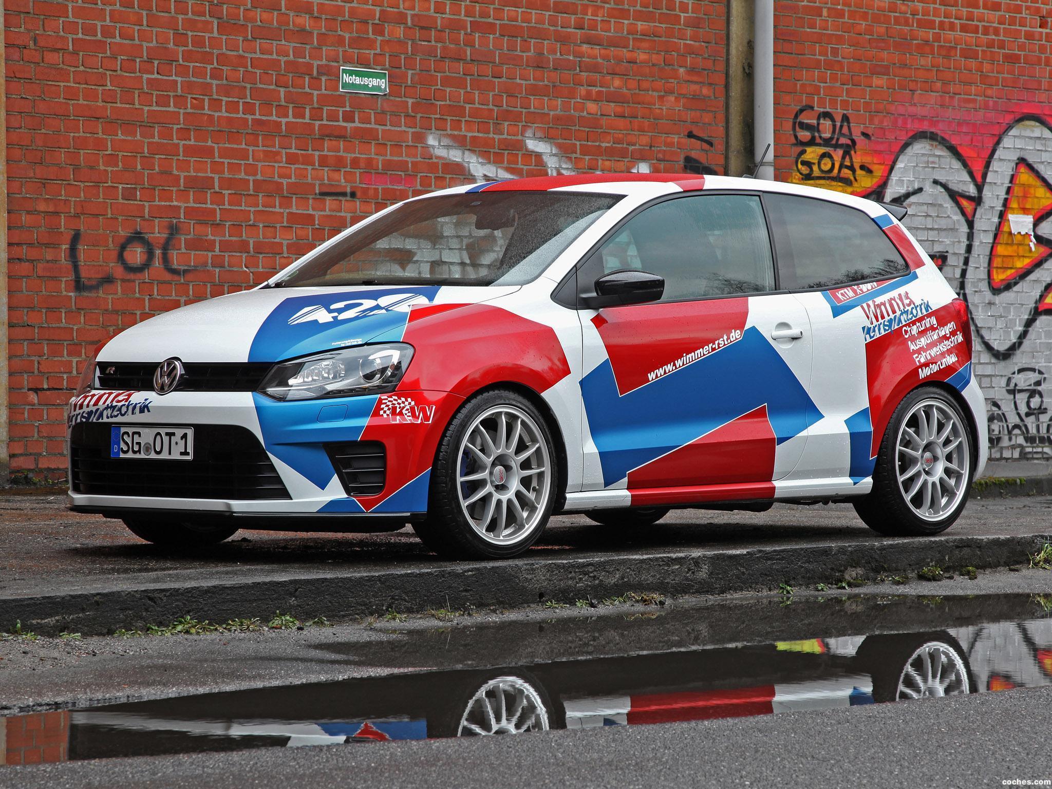 Foto 4 de Wimmer Volkswagen RS Polo R WRC Street 2016
