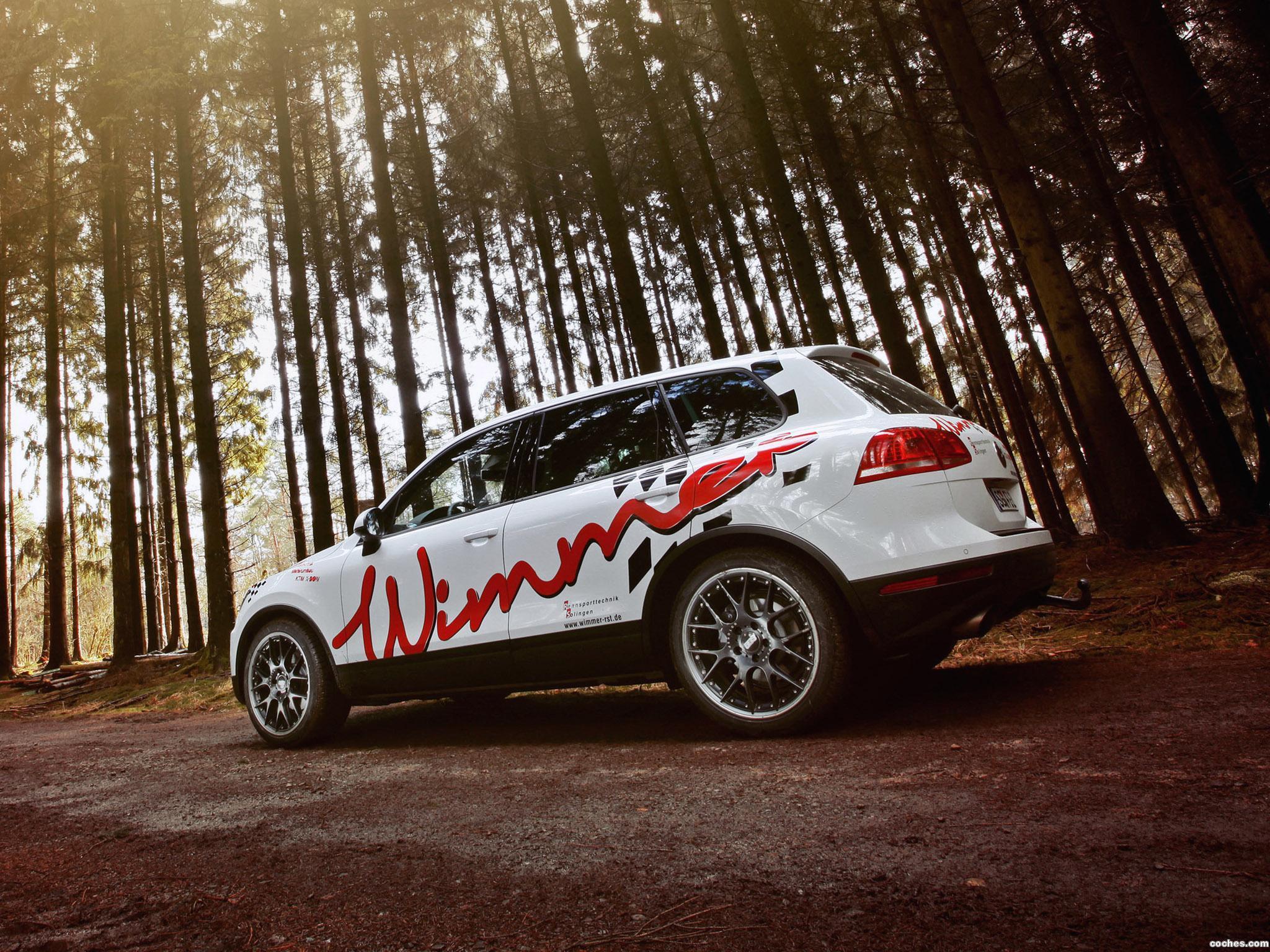 Foto 4 de Wimmer Volkswagen RS Touareg 2016
