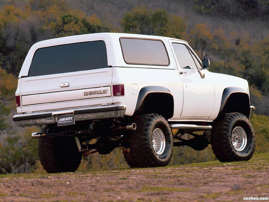 Foto 1 de Xenon Chevrolet Blazer 1983
