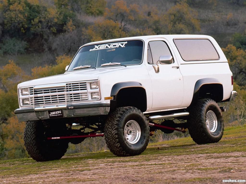 Foto 0 de Xenon Chevrolet Blazer 1983