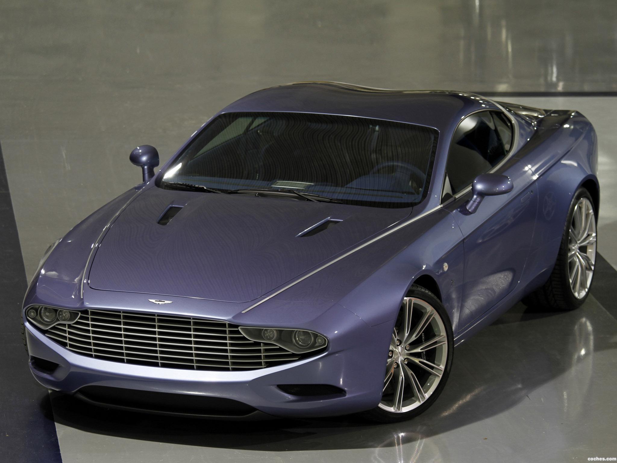 Foto 0 de Zagato Aston Martin DBS Coupe Centennial 2013
