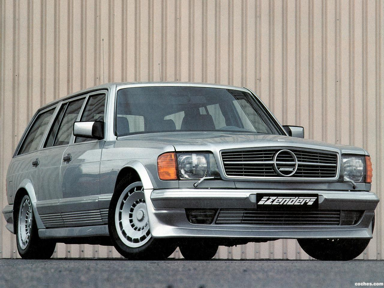 Foto 0 de Zender Mercedes 500 SET W126 1983